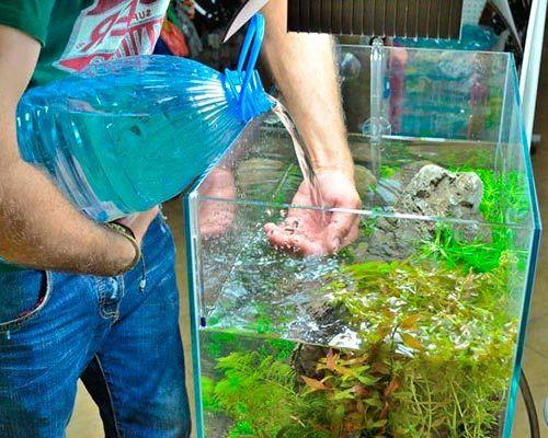 Как правильно менять воду в аквариуме